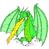 Drachen Malvorlage