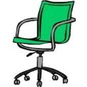 Schreibtischstuhl Clipart