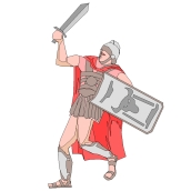 Malvorlagen Gratis Romer