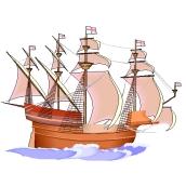 Malvorlagen Piratenschiff
